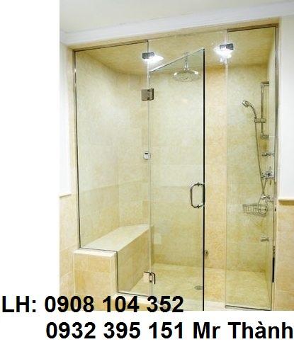 báo giá lắp đặt phòng tắm kính- vách kính phòng tắm rẻ nhất quận 1