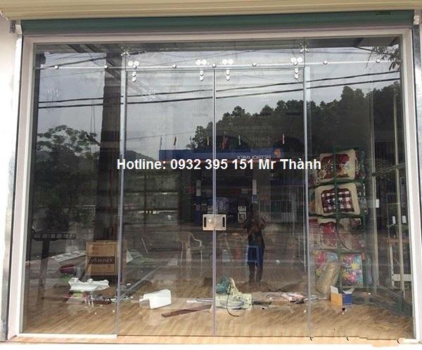 Báo giá thi công cửa lùa 1 cánh 2 cánh quận Tân Bình