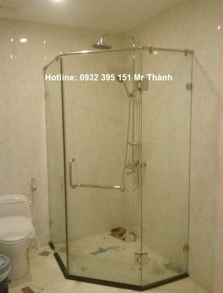 Báo giá vách tắm kính quận  Tân Bình giá tốt nhất